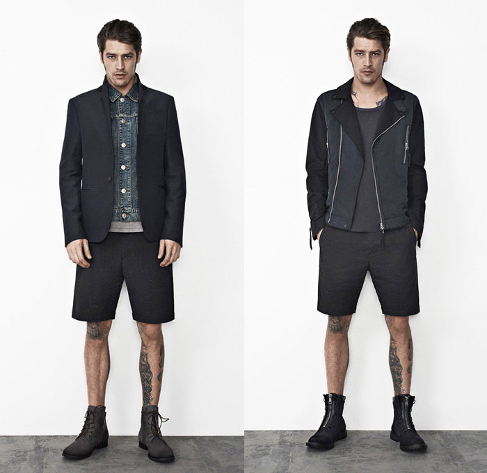 AllSaints 2013 Spring April Mens Lookbook | Denim Jeans Fashion Week Runway Catwalks Fashion ...