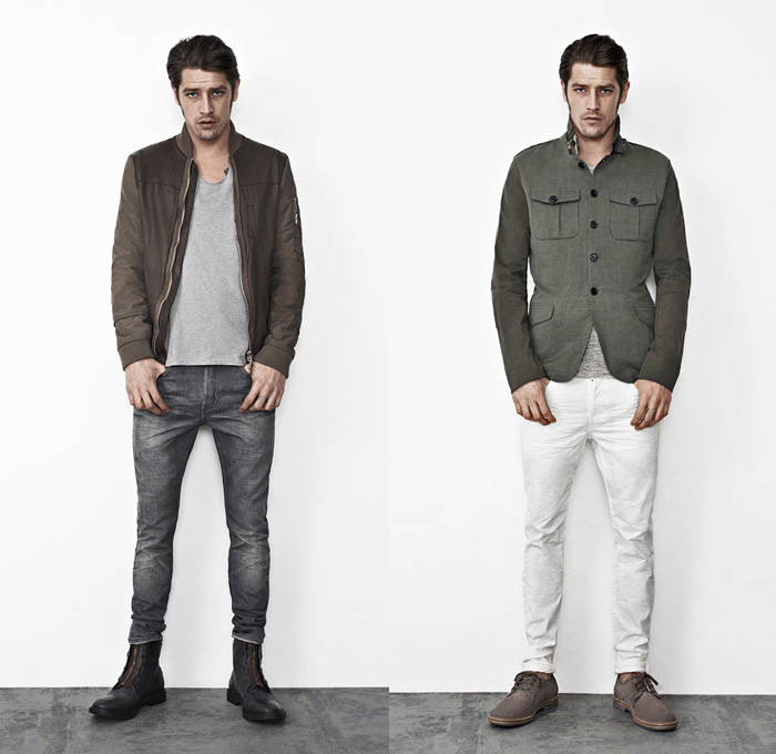 Rolled Up Jeans Mens