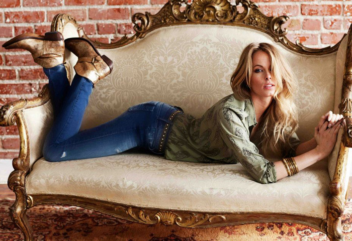 Black Orchid 2013 Spring Womens Ad Campaign Denim Jeans