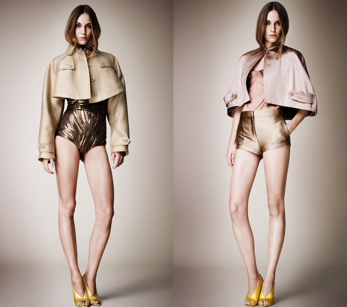 Burberry Prorsum The Looks for 2013 Womens Spring Summer ...