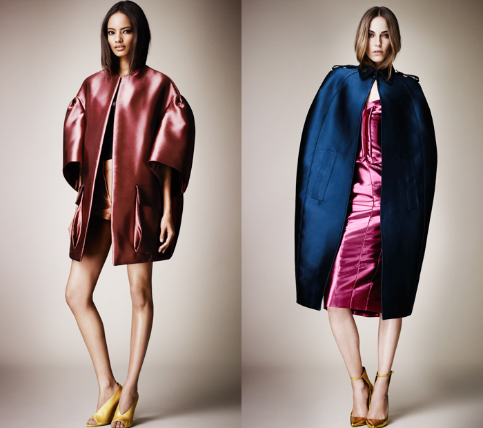 Burberry Prorsum The Looks For 2013 Womens Spring Summer