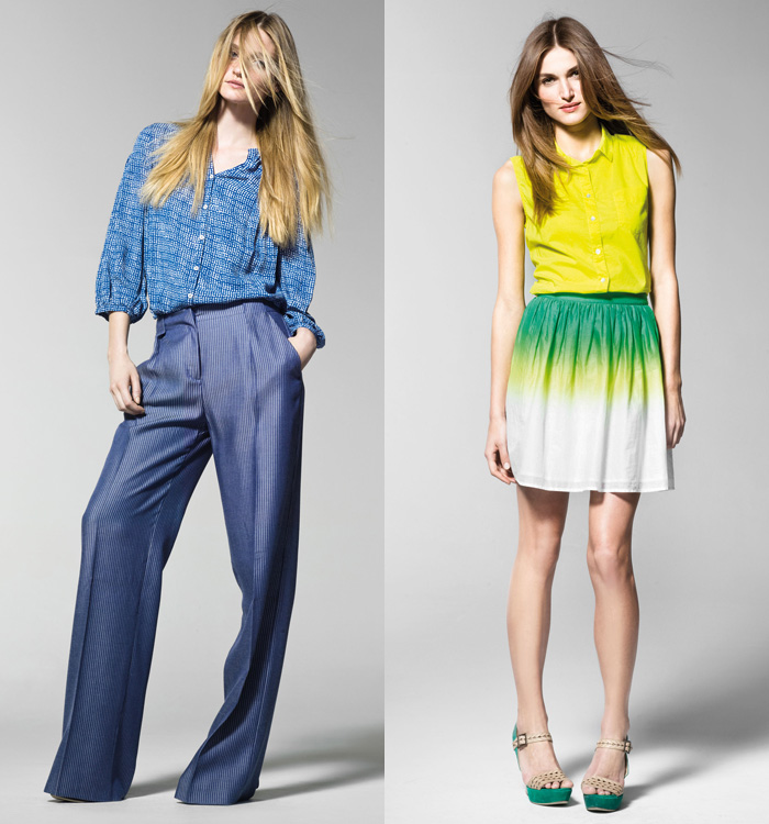 Benetton 2013 Spring Summer Womens Lookbook