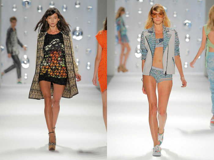 Custo Barcelona 2013 Spring Summer Runway X-Ray Collection ...