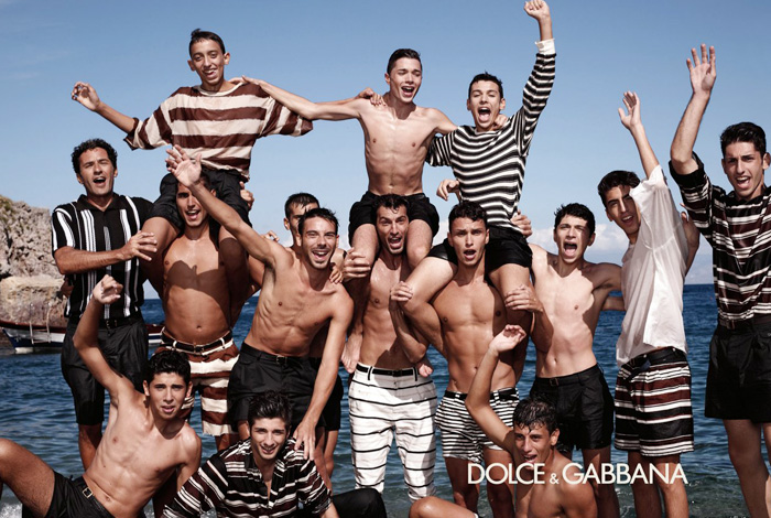 Dolce & Gabbana Sneak Peek 2013 Spring Summer Ad Campaign: Designer Denim Jeans Fashion: Season Collections, Runways, Lookbooks and Linesheets
