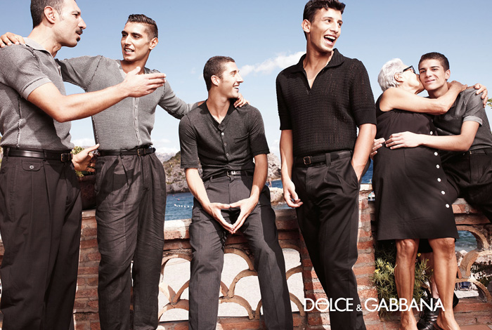 dolce amp gabbana 2013 spring summer menswear ad campaign
