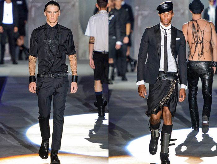 Dsquared2 Club Society 2013 Spring Summer Mens Runway