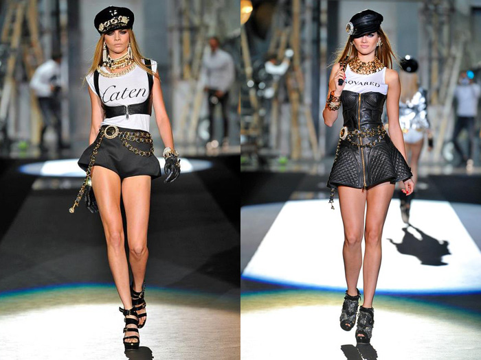 Dsquared2 2013 Spring Summer Runway Womens Collection: Designer Denim Jeans Fashion: Season Collections, Runways, Lookbooks and Linesheets