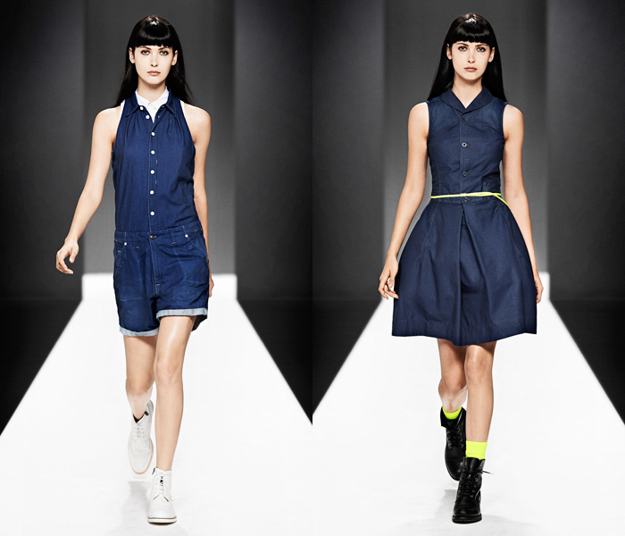G-Star RAW 2013 Spring Summer Womens Runway Collection ...