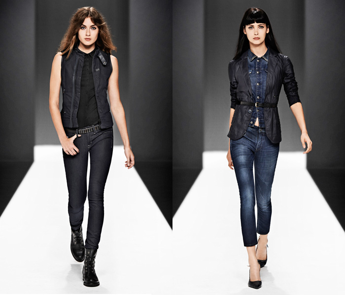 G Star Raw 2013 Spring Summer Womens Runway Collection
