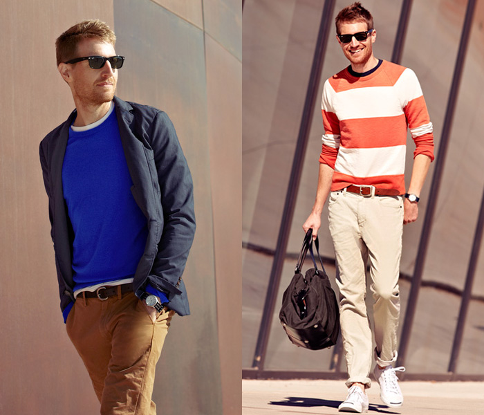 J crew 2013 spring ahead mens looks denim jeans fashion for J crew mens looks