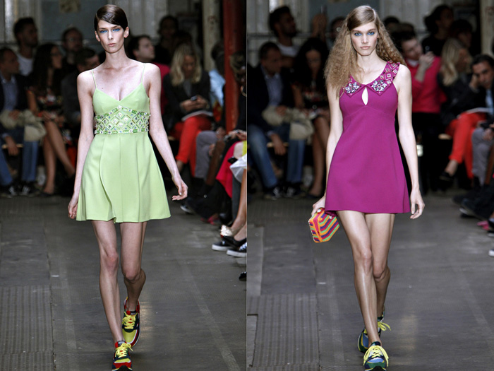 Moschino Cheap and Chic 2013 Spring Summer Runway Collection: Designer Denim Jeans Fashion: Season Collections, Runways, Lookbooks and Linesheets