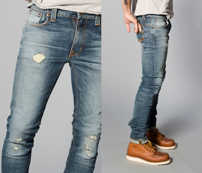Mens Jeans With Stretch Denim