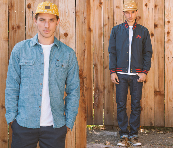 Obey Clothing 2013 Spring Mens Lookbook Denim Jeans