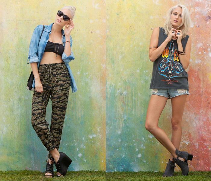Obey Clothing 2013 Summer Womens Lookbook Denim Jeans