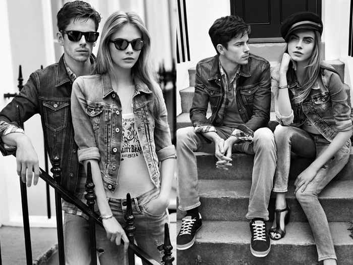 Pepe Jeans London 2013 Spring Summer Ad Campaign Denim