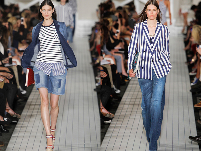 Tommy Hilfiger 2013 Spring Summer Womens Runway Collection Denim Jeans Fashion Week Runway