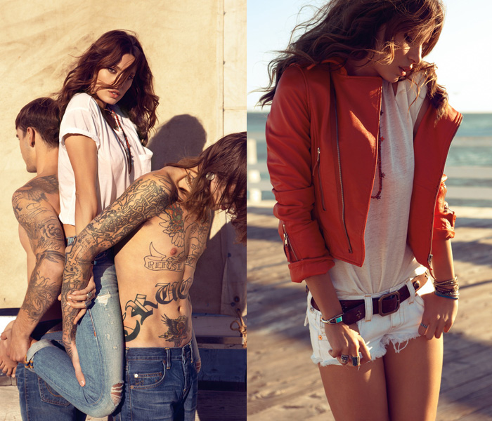 True Religion Brand Jeans 2013 Spring Summer Ad Campaign
