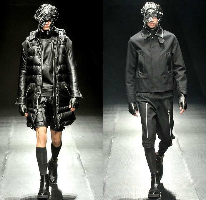 99 is by bajowoo 2014 2015 fall winter mens runway for Mercedes benz women s jacket
