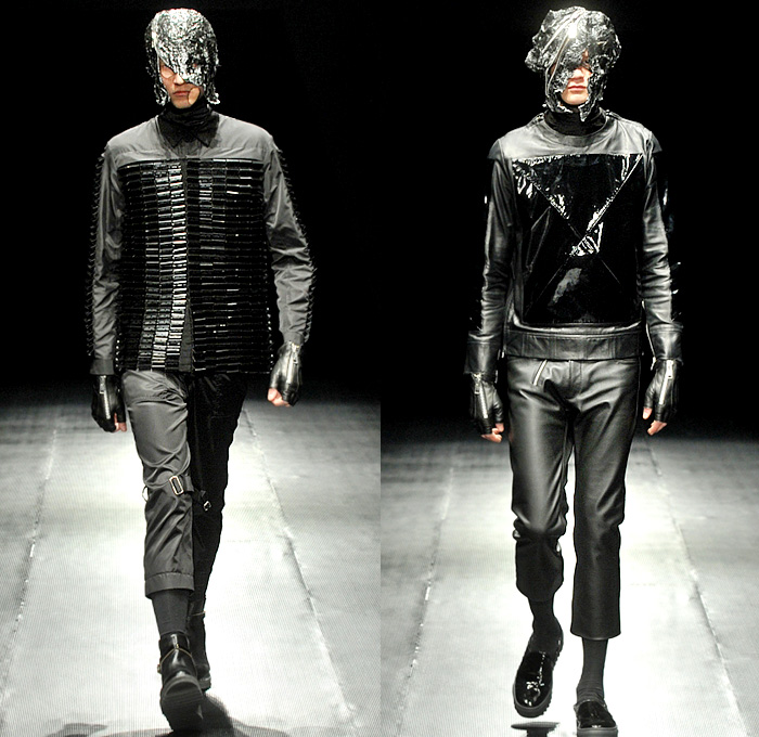 Mercedes Benz Leather Jacket: 99%IS- By Bajowoo 2014-2015 Fall Winter Mens Runway