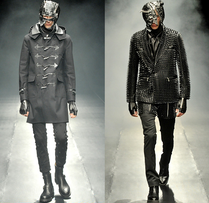 99 is by bajowoo 2014 2015 fall winter mens runway for Mercedes benz clothing men