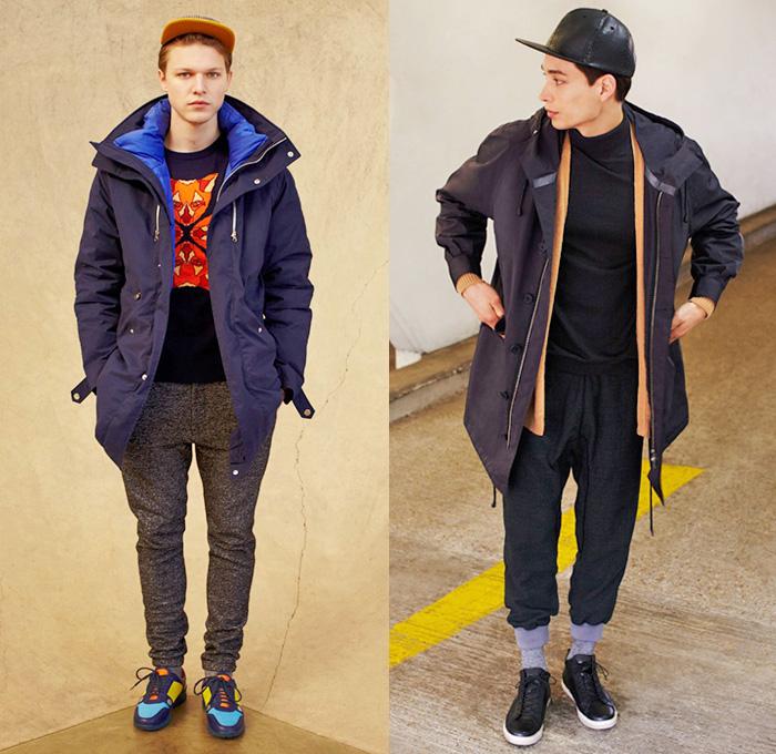 ASOS 2014,2015 Fall Winter Mens Lookbook Collection