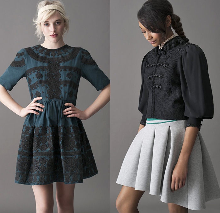 Asos 2014 2015 Fall Autumn Winter Womens Lookbook Denim