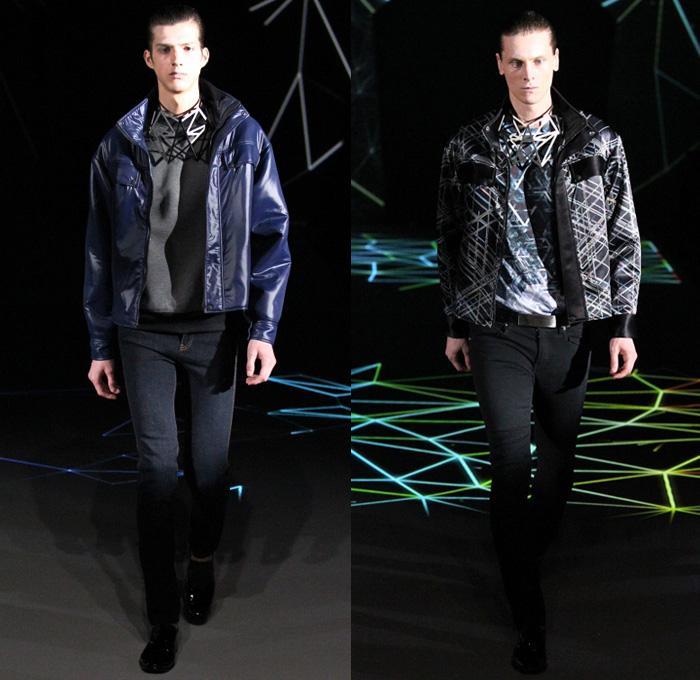 Atsushi nakashima 2014 2015 fall winter mens runway for Mercedes benz clothing men