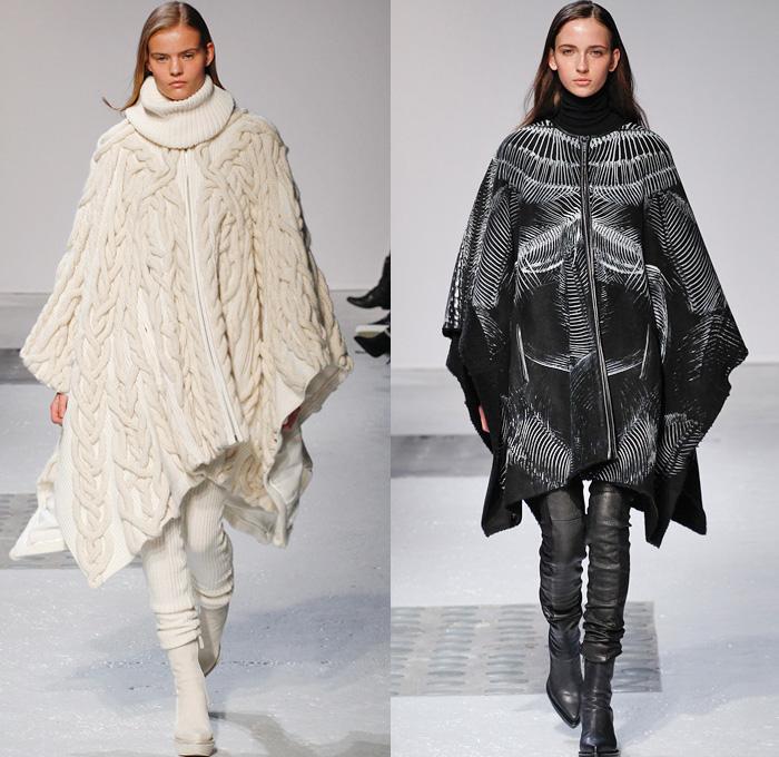 Knitting Fashion 2015 : Barbara bui  fall winter womens runway denim
