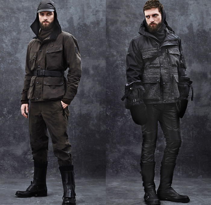 Belstaff 2014 2015 Fall Winter Mens Presentation Denim