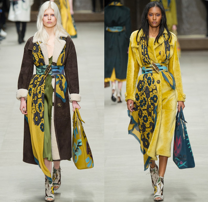 Burberry Prorsum 2014 2015 Fall Winter Womens Runway