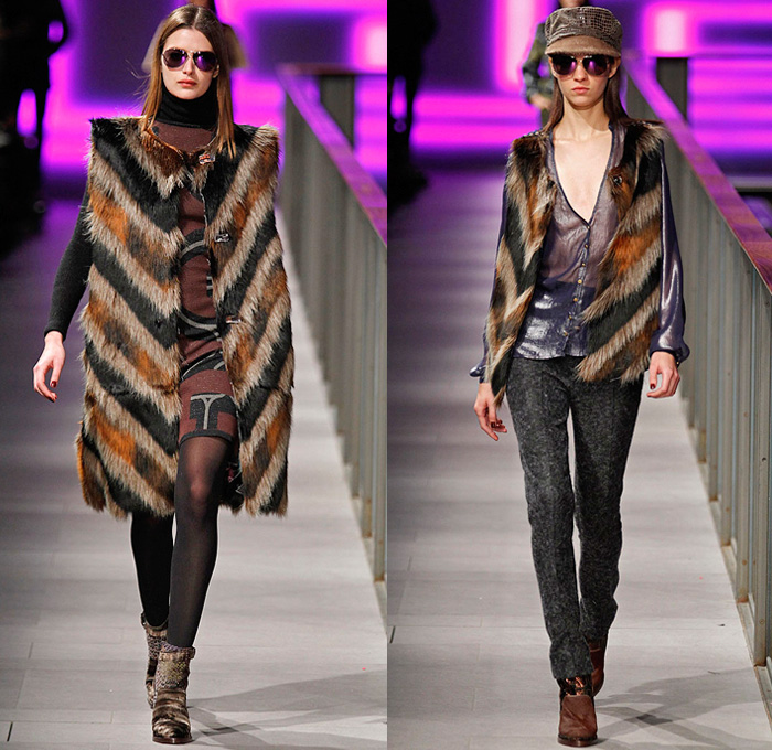 Custo Barcelona 2014 2015 Fall Winter Womens Runway