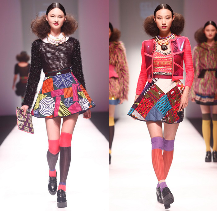 yyo presents celia b 20142015 fall winter womens runway