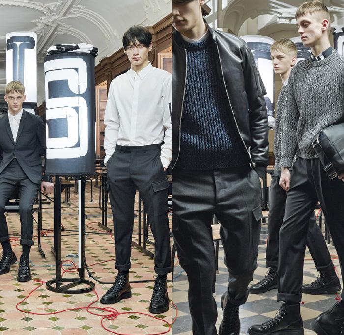 Dior Homme 2014 2015 Fall Winter Mens Lookbook Denim Jeans Fashion Week Runway Catwalks