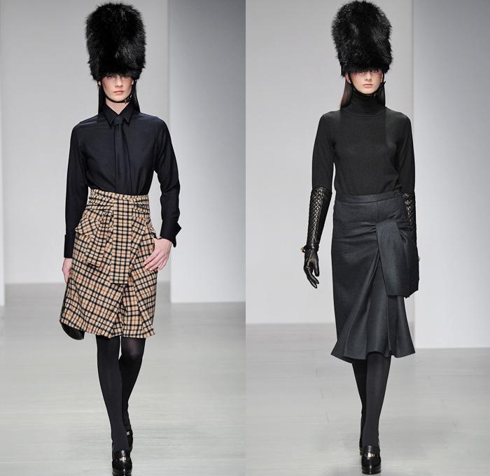 13cb617b783 DAKS 2014-2015 Fall Autumn Winter Womens Mens Runway Looks - London Fashion  Week Catwalk
