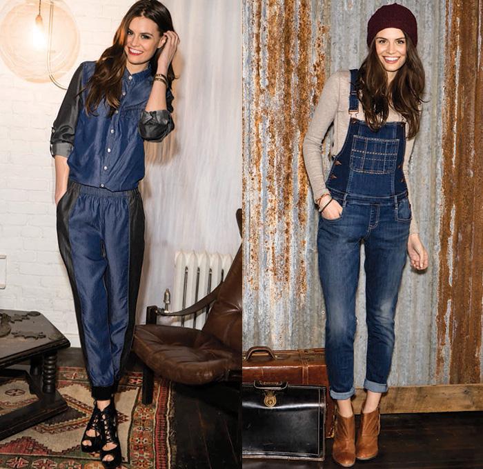 Dittos 2014 2015 Fall Womens Lookbook Denim Jeans
