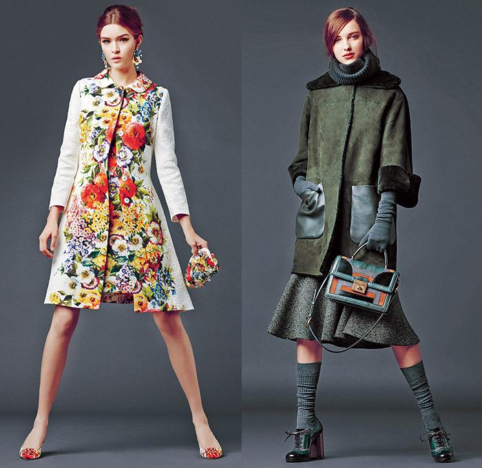 Knitting Fashion 2015 : Dolce gabbana  fall winter womens lookbook