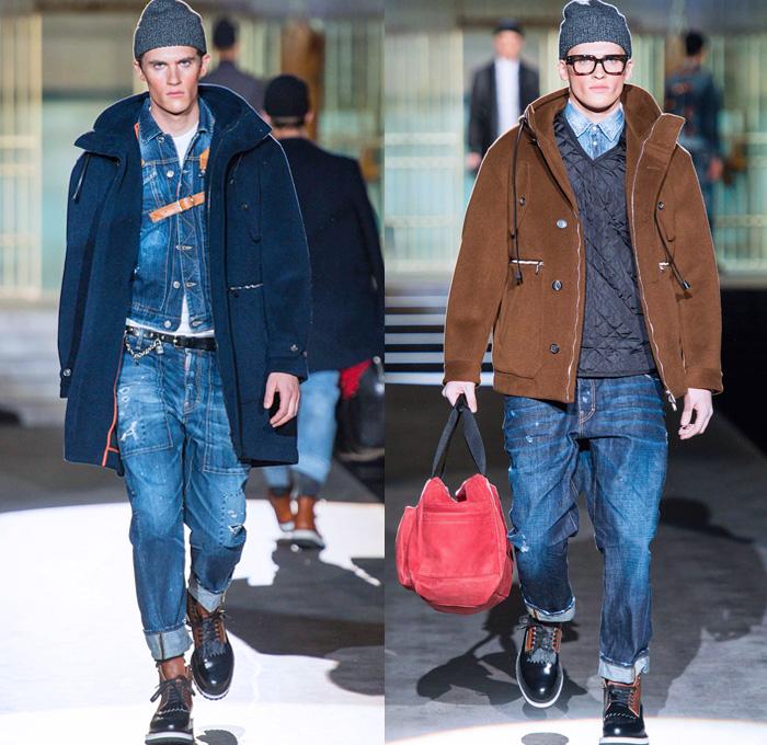 Dsquared2 2014 2015 Fall Winter Mens Looks Denim Jeans