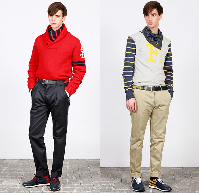 a71be8f641412 F. by Façonnable 2014-2015 Fall Winter Mens Lookbook Collection ...