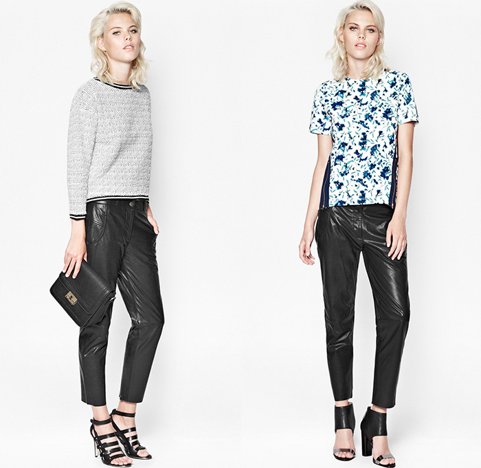 french connection 2014 pre fall womens lookbook denim