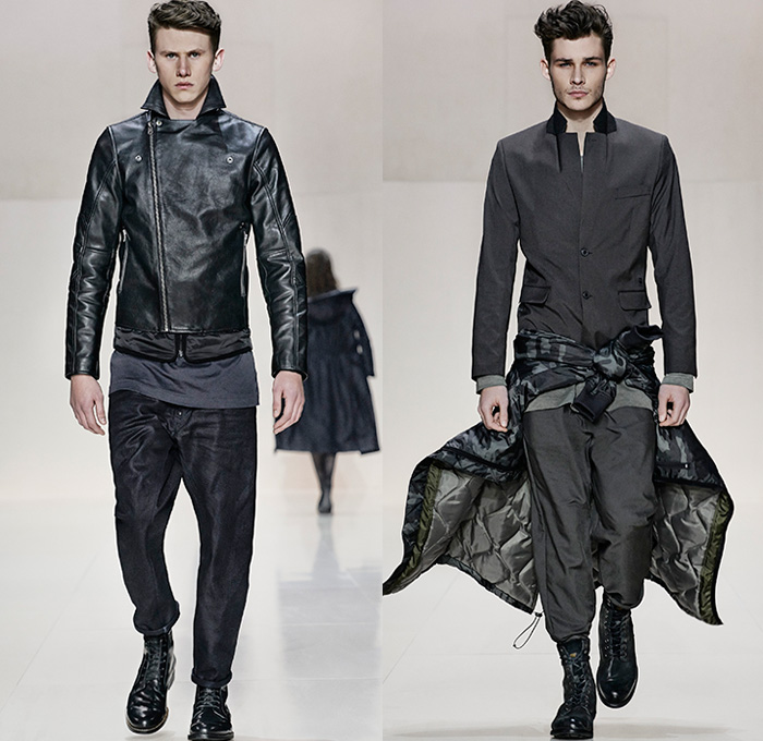 G-Star RAW 2014-2015 Fall Winter Mens Runway