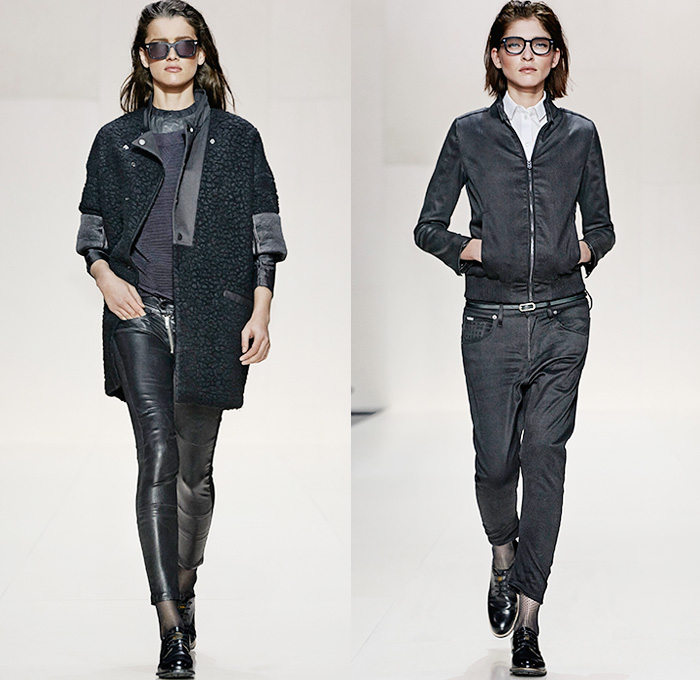cd09aaddc72 G-Star RAW 2014-2015 Fall Winter Womens Runway | Denim Jeans Fashion ...