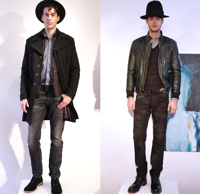 Gilded Age 2014 2015 Fall Winter Mens Looks Denim Jeans Fashion Week Runway Catwalks Fashion