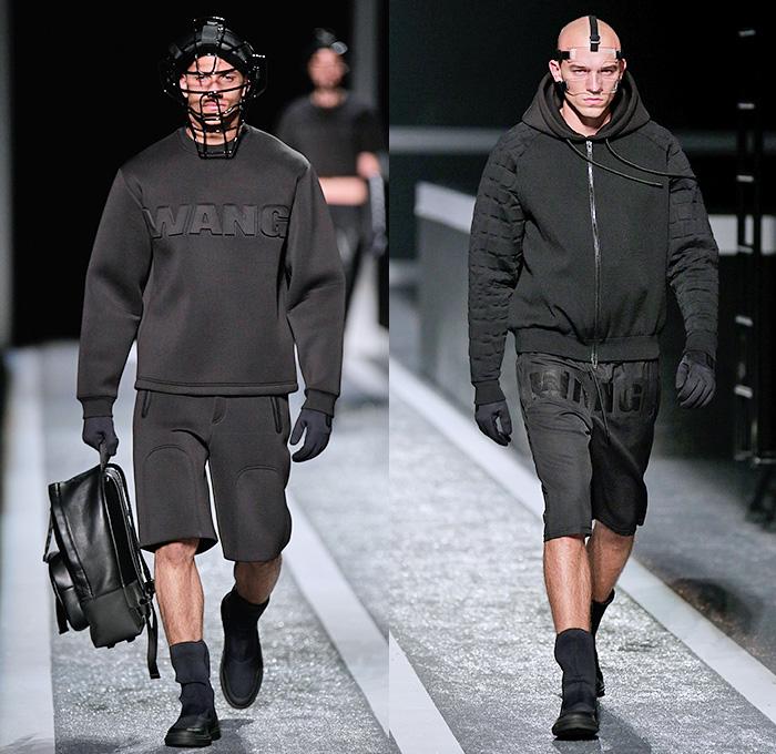 Fashion trend forecast 2017 - Alexander Wang X H M 2014 2015 Fall Winter Mens Runway