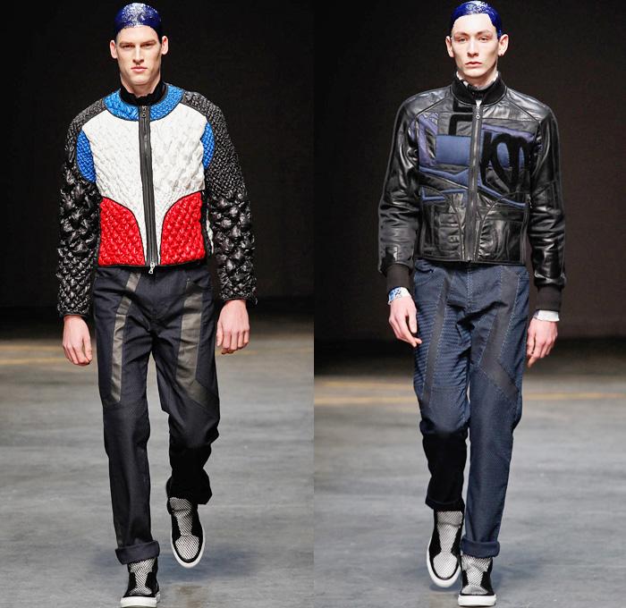James Long 2014-2015 Fall Winter Mens Looks   Denim Jeans Fashion Week ...
