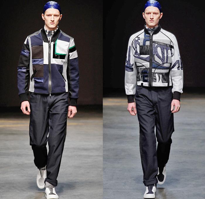James Long 2014 2015 Fall Winter Mens Looks Denim Jeans