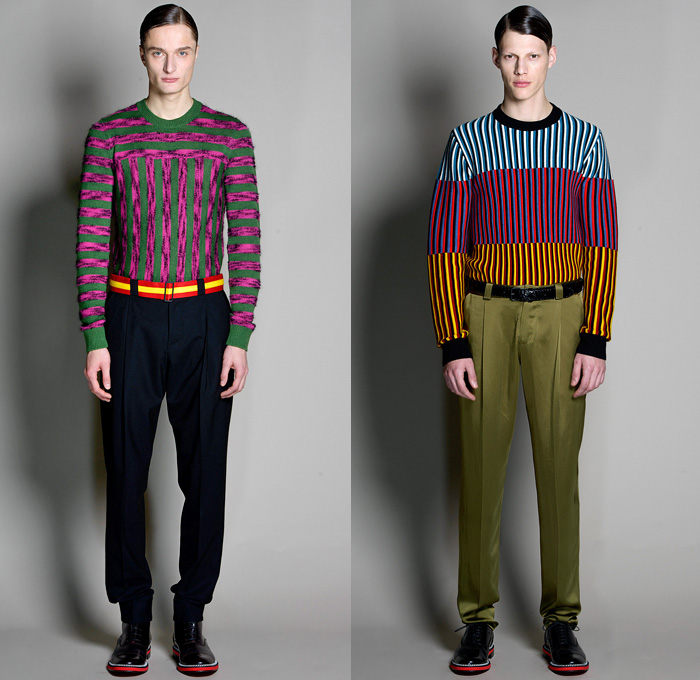 Jonathan Saunders 2014 2015 Fall Winter Mens Runway