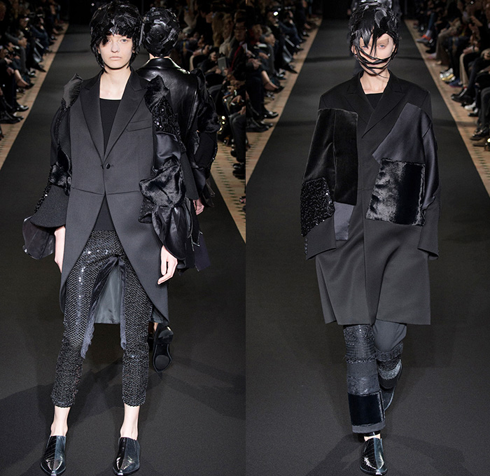 Junya Watanabe 2014 2015 Fall Winter Womens Runway Denim Jeans Fashion Week Runway Catwalks