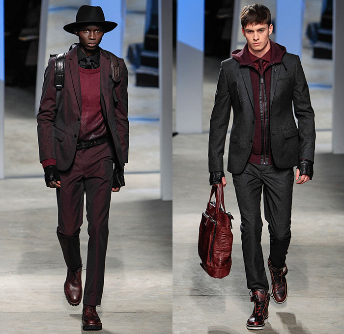 Kenneth Cole Collection 2014-2015 Fall Winter Mens Runway ...