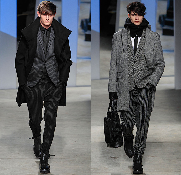 Kenneth Cole Collection 2014 2015 Fall Winter Mens Runway Denim Jeans Fashion Week Runway