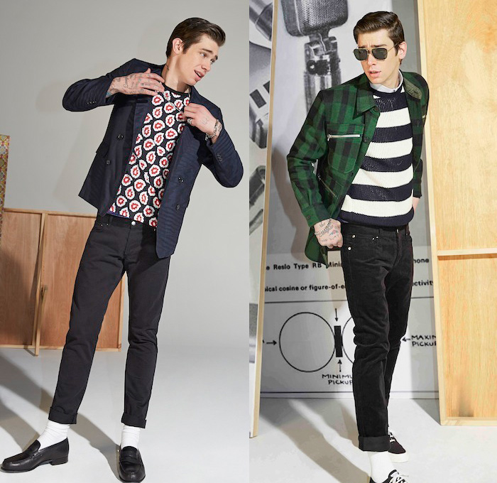 Bohemian style clothing for men
